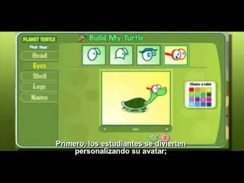 Planet Turtle. La forma divertida de aprender matemáticas.