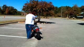 7. 2007 honda shadow vlx deluxe 600 practice