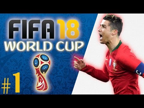 FIFA 18 WORLD CUP MODE: THE JOURNEY BEGINS! (Ep. 1)