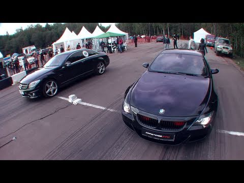 Mercedes Cl63 Amg Vs Bmw M6