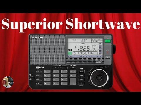 Sangean ATS-909X AM FM LW Shortwave SSB Portable Radio Unboxing & Review