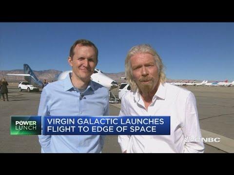Video - Με επιτυχία στέφθηκε η δοκιμαστική πτήση διαστημικού τουριστικού σκάφους της Virgin Galactic - ΒΙΝΤΕΟ
