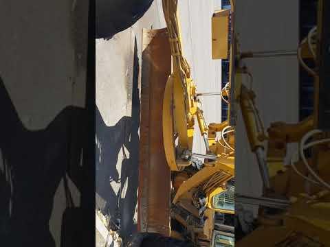CATERPILLAR MOTONIVELADORAS 120H equipment video Q1QZkZnPvqc