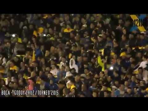 Video - COMPILADO DE LA HINCHADA / Boca - Godoy Cruz 2015 - La 12 - Boca Juniors - Argentina
