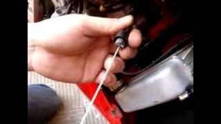 10. como cambiar cable de acelerador