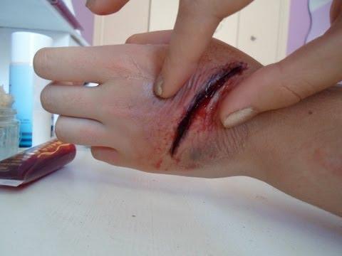 comment faire une fausse blessure ?