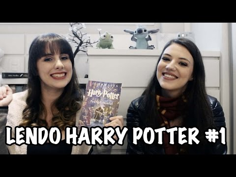 HARRY POTTER E A PEDRA FILOSOFAL | LENDO HARRY POTTER | Booktalk com a Gi | Beyond Blue Doors