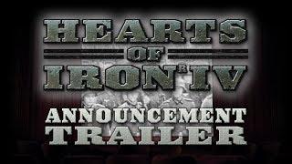 Hearts of Iron IV анонсовый трейлер