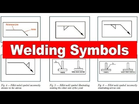 Welding Symbol As Per Awsamerican Welding Society For Mechanical