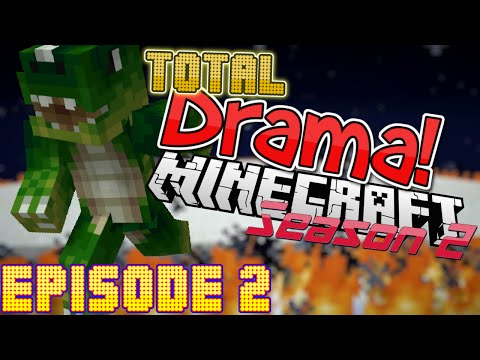 "Total Drama Minecraft - Season 2 - Episode 2: ""hot Foot!"""