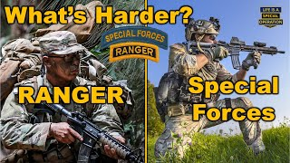 Video What's Harder - Ranger School or the Special Forces Qualification Course? MP3, 3GP, MP4, WEBM, AVI, FLV Februari 2019