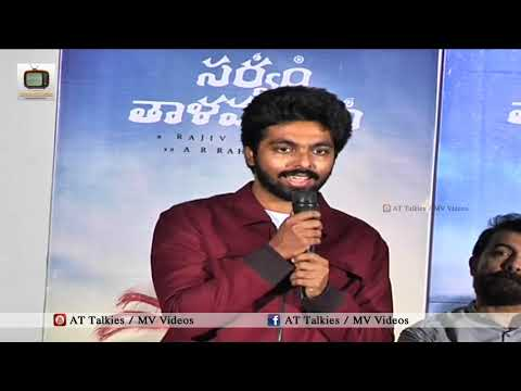 GV Prakash Superb Telugu Speech @ Sarvam Thaala Mayam Movie Press Meet