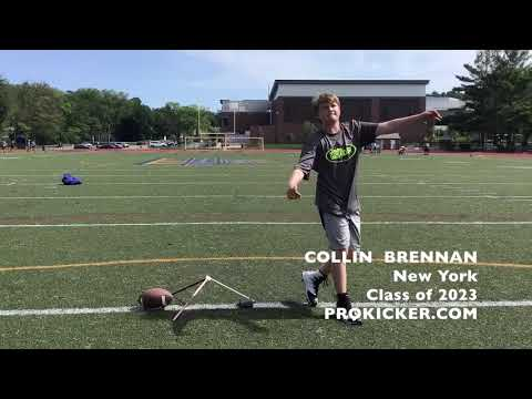 Collin Brennan- Kicker Punter, Class of 2023