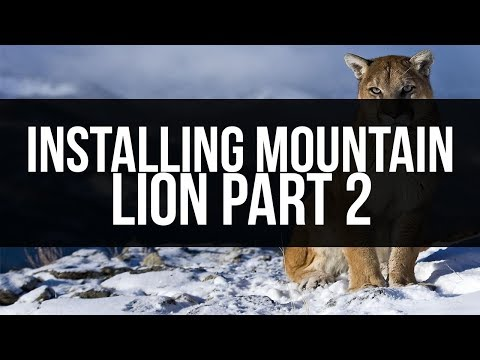 Hackintosh From Start to Finish: Installing Mountain Lion (Part 2) (видео)