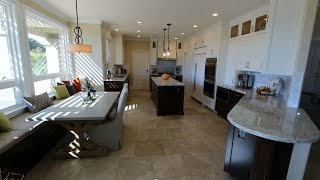 Transitional Design Build Kitchen Remodel with Custom cabinets in Yorba Linda Orange County