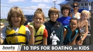 10 Tips for Boating with Kids