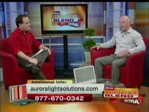 Aurora Light Solutions on ABC Local Morning News Talking About Light Therapy