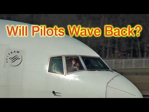 Will pilots wave back?