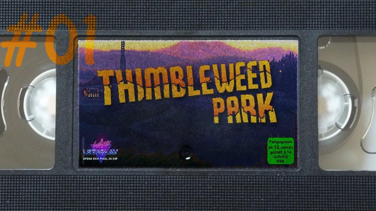 #01 - MORD unter der Zugbrücke | Let's Play Thimbleweed Park [german] [blind][PC]