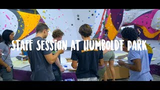 First Ascents - Staff Session At Humboldt Park by Eric Karlsson Bouldering