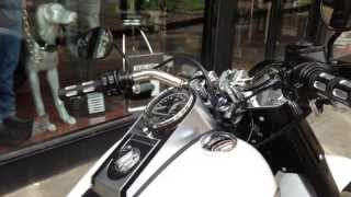 10. 2011 HARLEY-DAVIDSON FAT BOY SPECIAL @ West Coast Harley-Davidson, Glasgow, Scotland