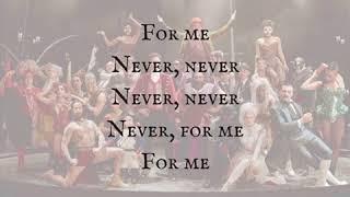 Loren Allred «Never Enough» from (The Greatest Showman) Lyrics