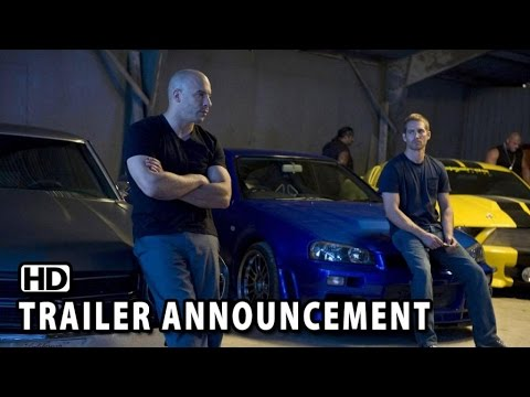 Movie Trailer: Fast & Furious 7