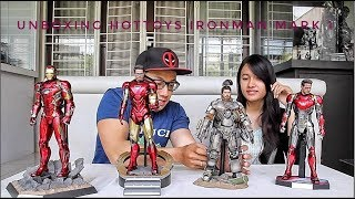 Video UNBOXING HOTTOYS IRONMAN MARK 1 FEAT VANIA JAJANAN SULTAN.... MP3, 3GP, MP4, WEBM, AVI, FLV September 2018