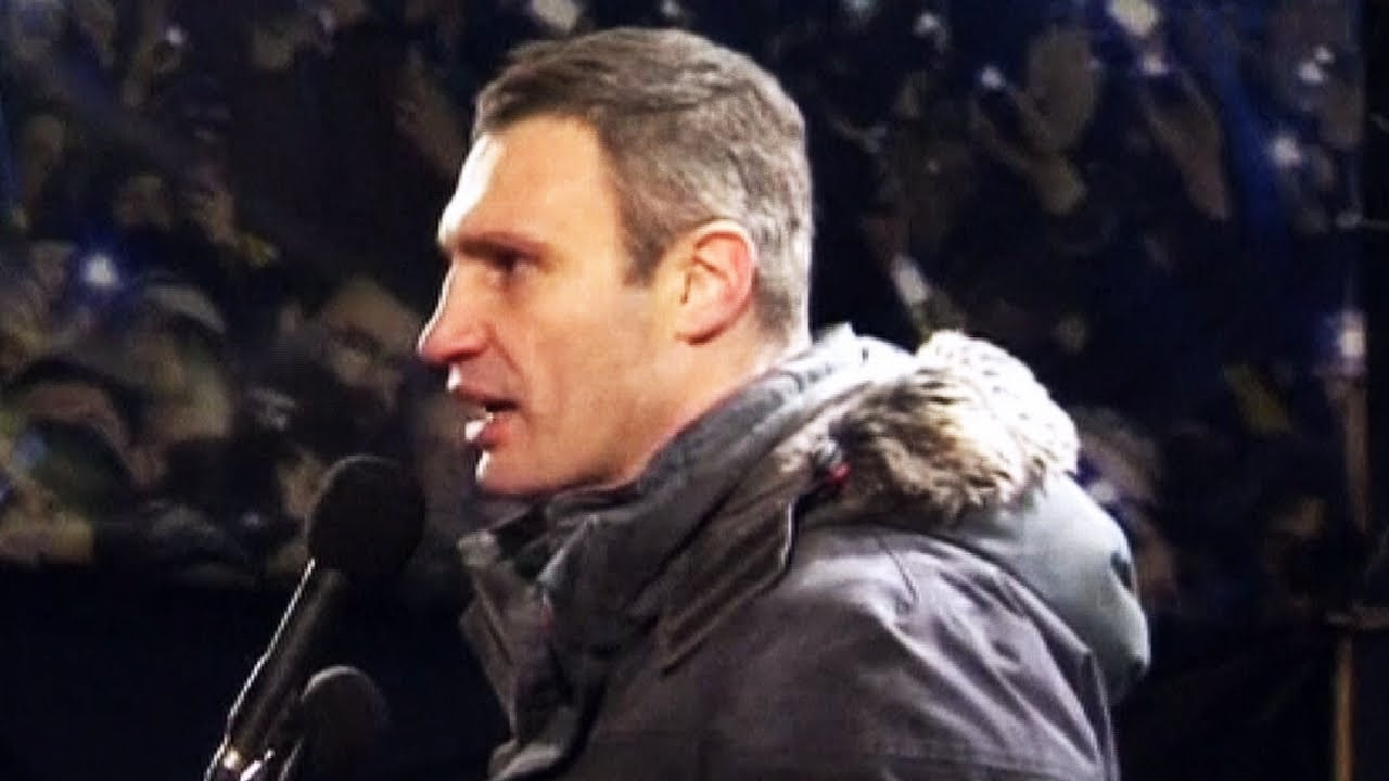 Video FullHD Vitali Klitschko UKRAINE KIEV VIOLENT PROTESTS JANUARY 2014 Riot 1080p