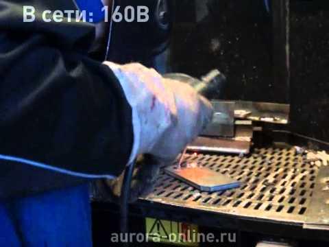 Испытание сварочного аппарата Stickmate160