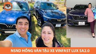 """NSND Hồng Vân mua xe VinFast: """"Ta về ta tắm ao ta, dù trong dù đục ao nhà vẫn AN TÂM"""""""