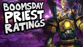 BOOMSDAY PRIEST CARD RATINGS | The Boomsday Project | Hearthstone