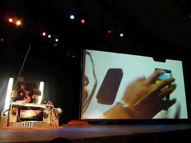 Demo Dirty use of USSD Codes in Cellular Network en Ekoparty 2012