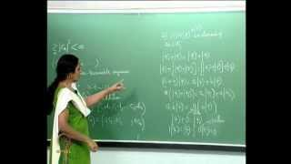 Mod-01 Lec-20 Infinite Dimensional Linear Vector Spaces