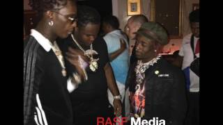 Young Thug Kisses Lil Uzi Vert YSL Chain