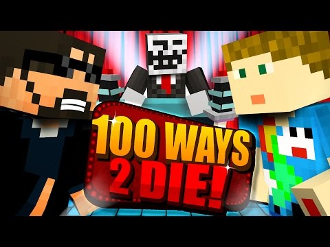 Minecraft: 100 WAYS TO DIE CHALLENGE - DO YOU EVEN VANILLA BRO [1] (видео)