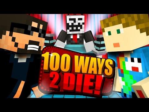 Minecraft: 100 WAYS TO DIE CHALLENGE - DO YOU EVEN VANILLA BRO [1] (видео)