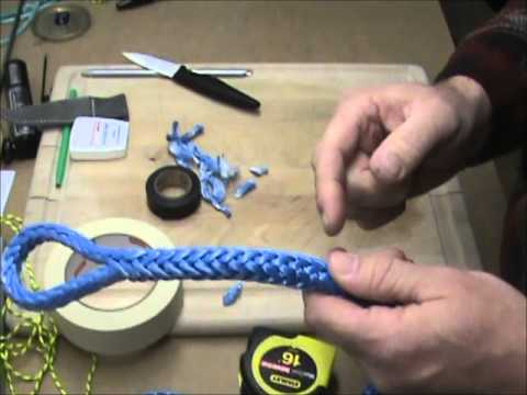 Creating a fixed eye in your Amsteel Blue Winch Line
