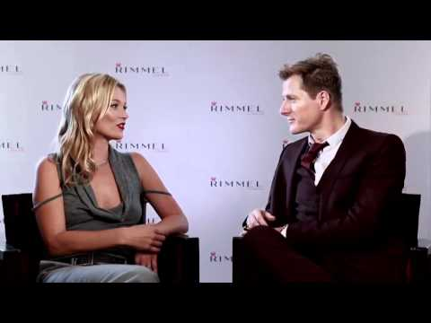 Kate Moss Talks about her Rimmel 10 Year Anniversary & Lipstick Collection