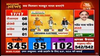 LIVE: Election Result 2019  : लोकसभा चुनाव के सबसे  तेज नतीजे    DilliTak