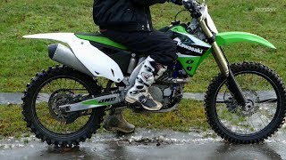 3. Kawasaki KX450F - My First Start
