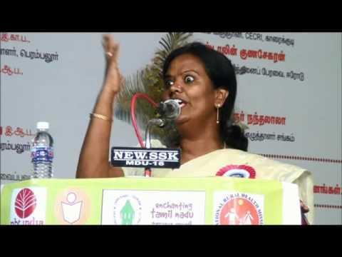 Parveen Sultana Speech 2 – Perambalur Book Fair 2014