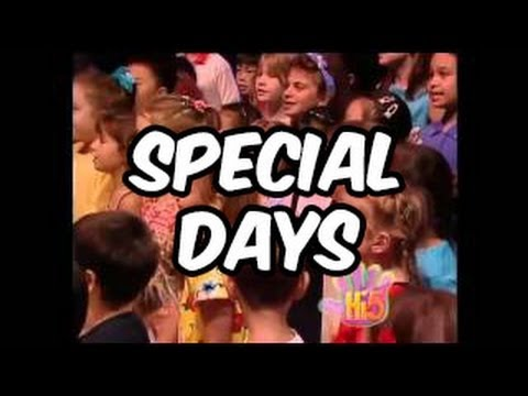 Special Days - Hi-5 - Season 2 Song Of The Week