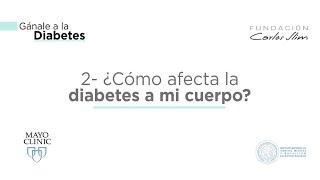 Diabetes - Como afecta la diabetes a el cuerpo.
