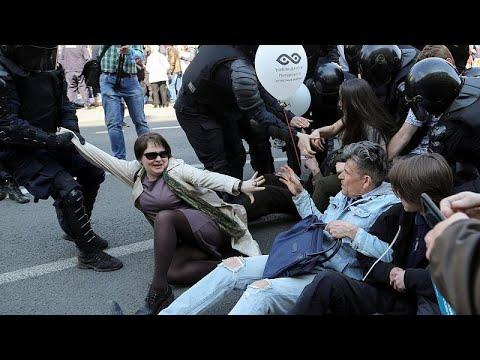Ρωσία: Πρωτομαγιά με συλλήψεις