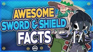 25 AWESOME Pokémon Sword and Shield Facts! by HoopsandHipHop