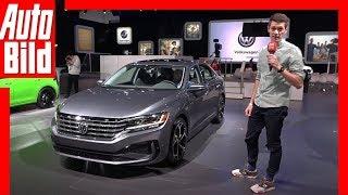 VW US-Passat Facelift (NAIAS 2019) Sitzprobe / Vorstellung / Details by Auto Bild