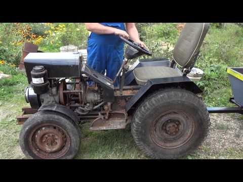 как самому сделать трактор видео