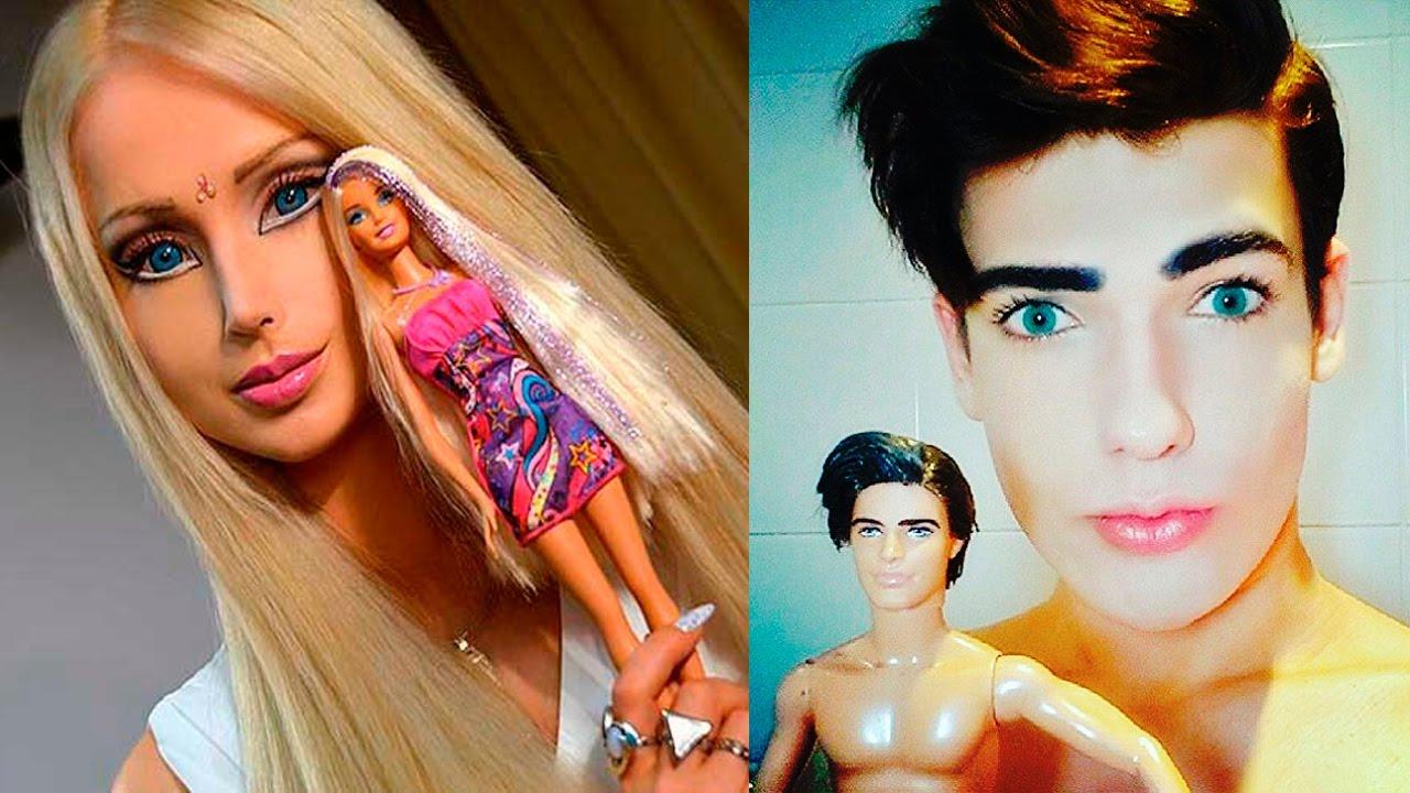 Persone uguali alle bambole e Valeria Lukyanova, la Barbie umana