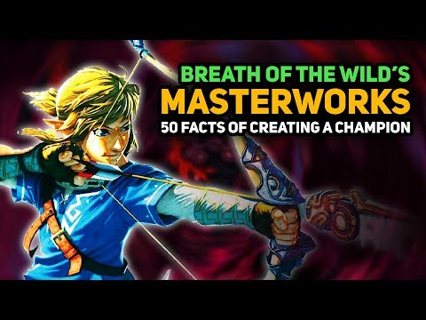 """50 INTERESTING FACTS of Breath of the Wild's """"Masterworks"""" Book (Creating a Champion)"""